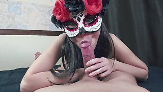 Pov Sloppy Blowjob Cowgirl Riding And Huge Missionary Creampie Cumload