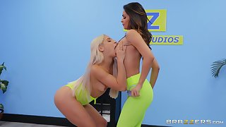 Lesbians share the lust in the best XXX cam show