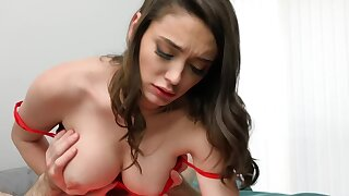 Busty hottie permits guy to film her hard sex with boyfriend