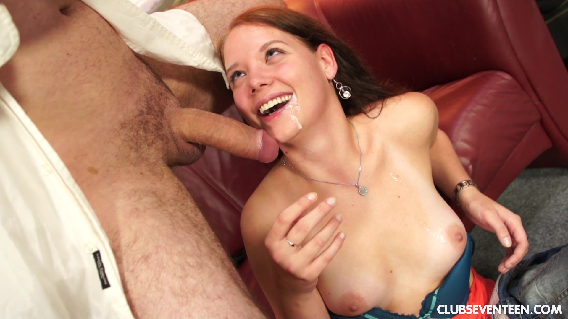 Irene D lets a horny guy drill her wet cunt from behind