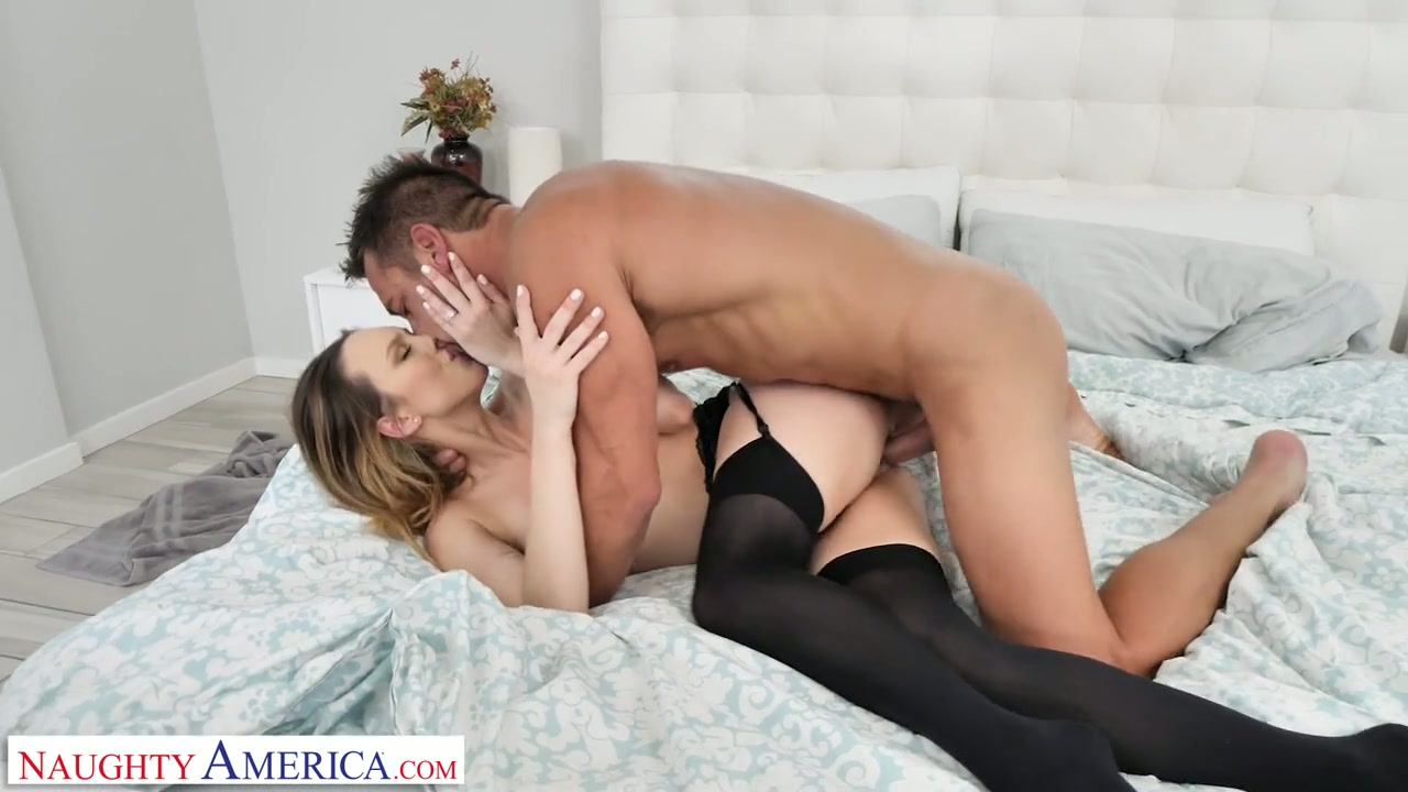After giving proper blowjob Jade Nile rides fat boner cock on top